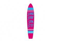 SAND SURF SUN STEF