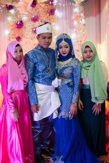 Cambodian & Muslim wedding